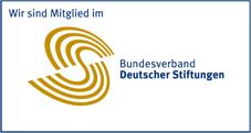 Logo des Bundesverbandes Deutscher Stiftungen, in dem die Hamburger Gemeinschaftsstiftung Mitglied ist.